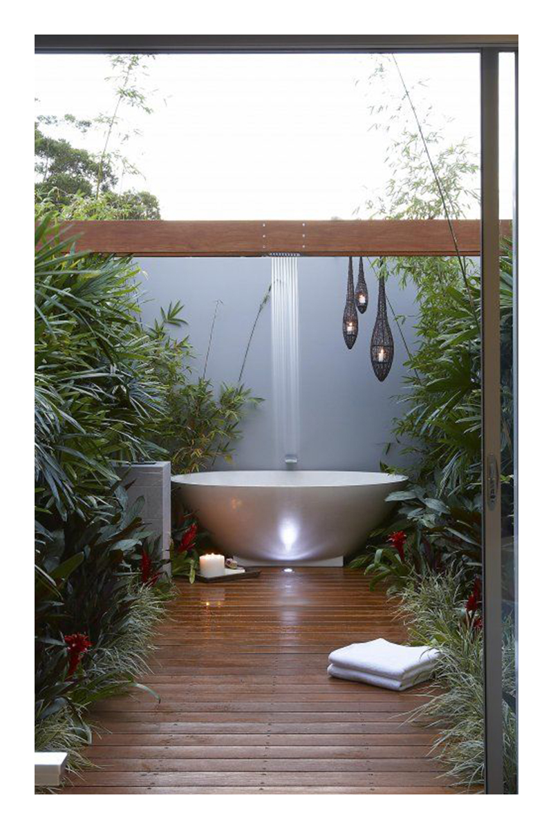 small tropical garden designs ideas