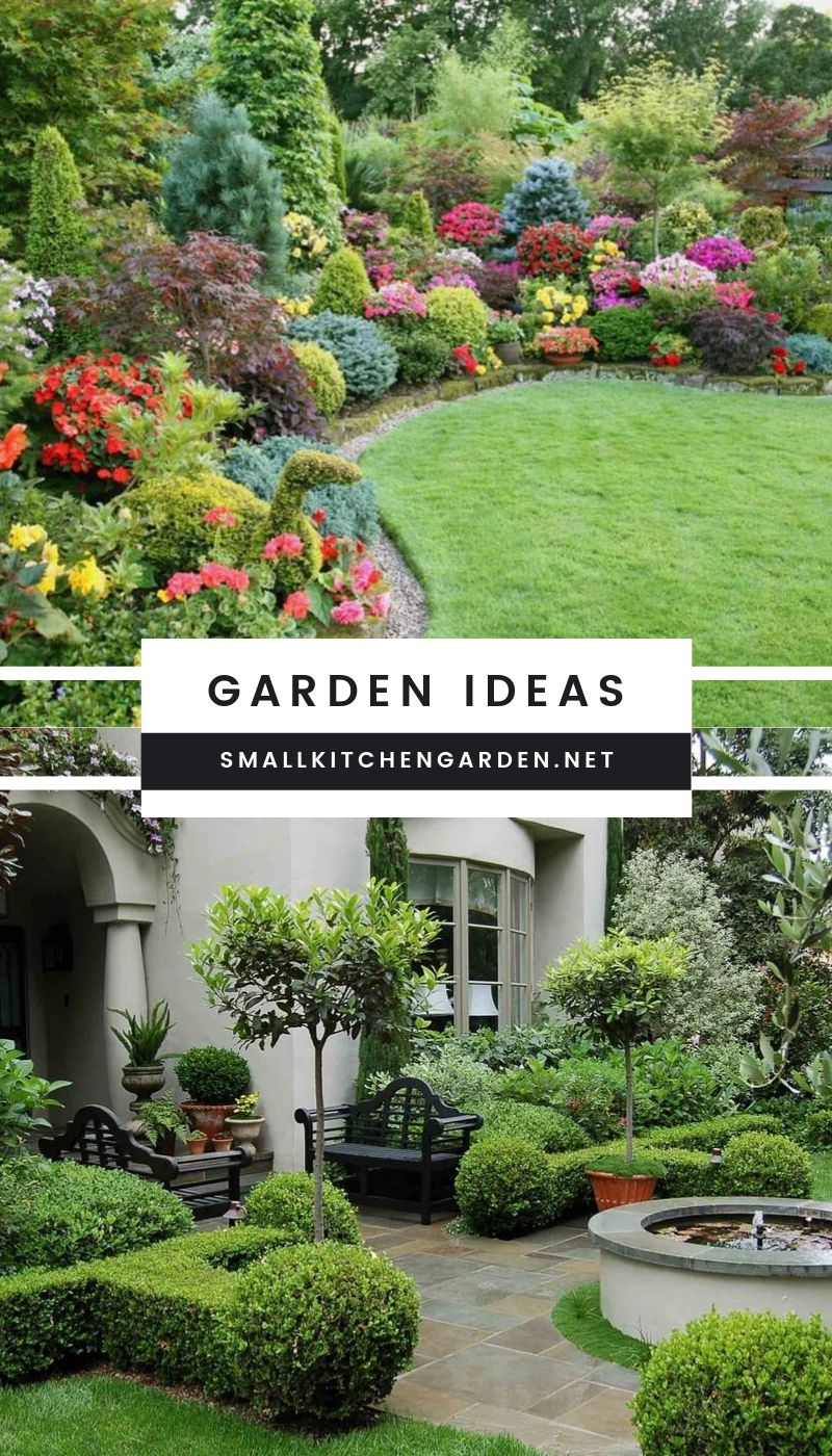 Simple and Sweet DIY Garden Ideas (Frontyard and Backyard)