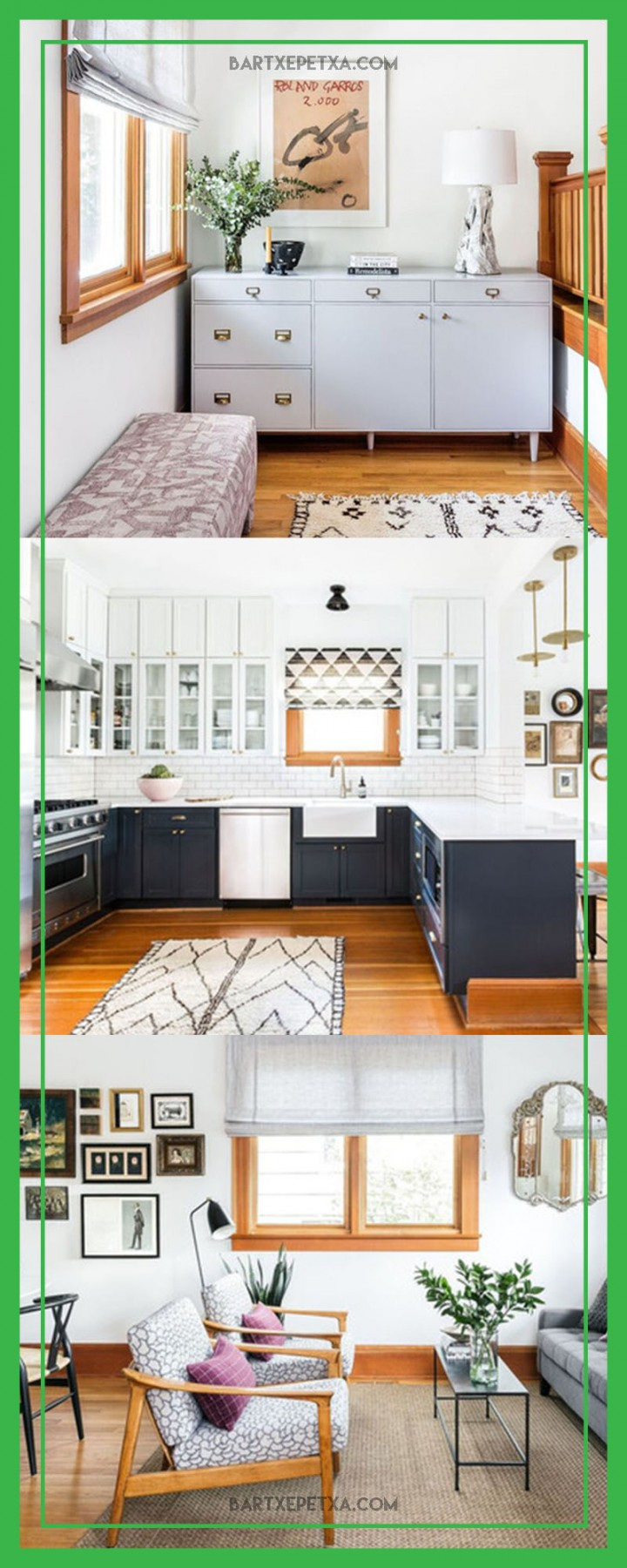 modern kitchen rugs