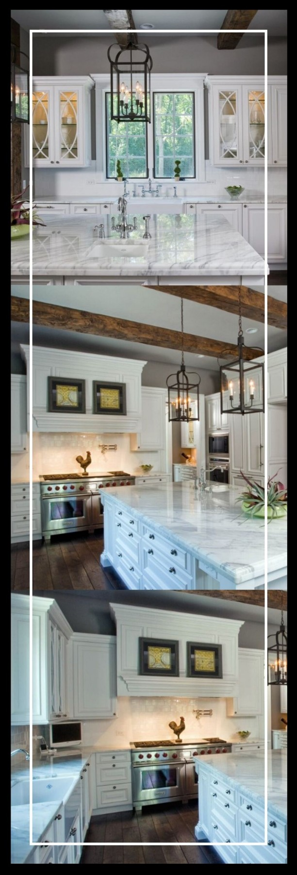 kitchen with black island ideas