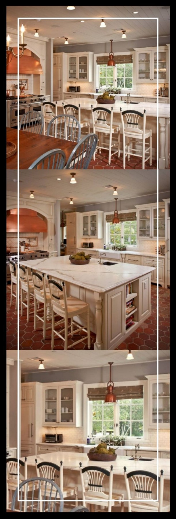 kitchen island ideas with end cp