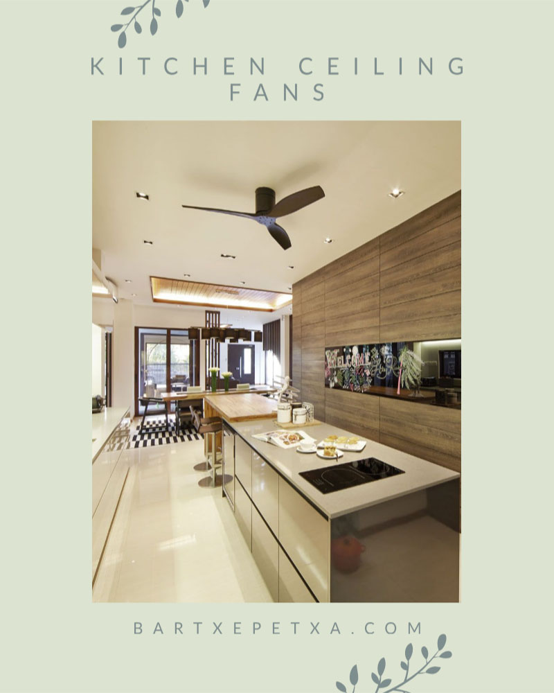 Kitchen Ceiling Fans Cool And Clic Design Of